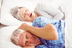 seniors SNORING