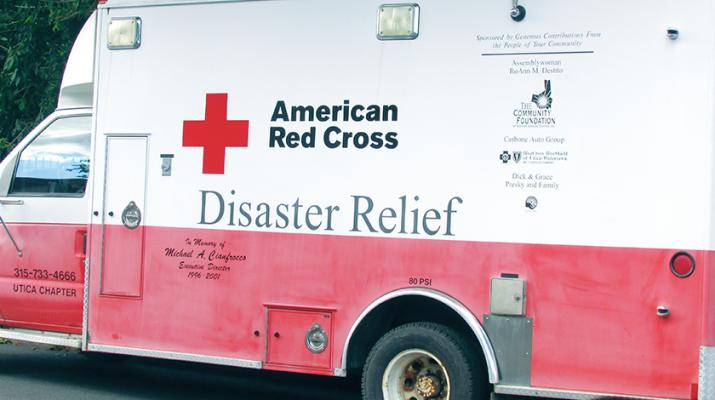 red cross Vehicle