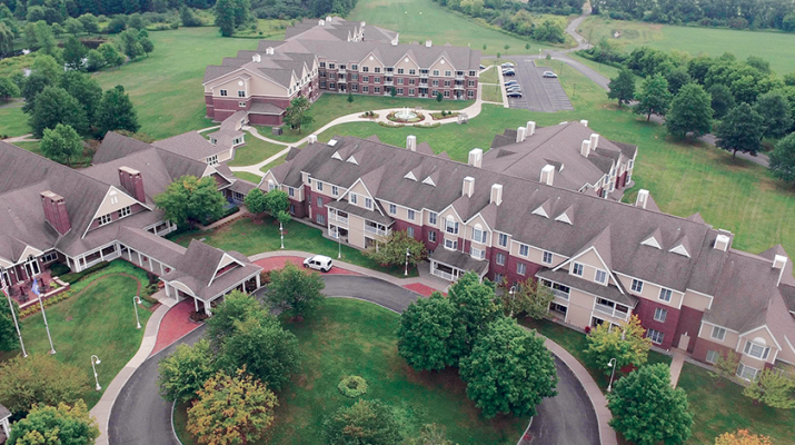 Acacia Village is an independent living senior community within the Masonic Care Community in Utica.