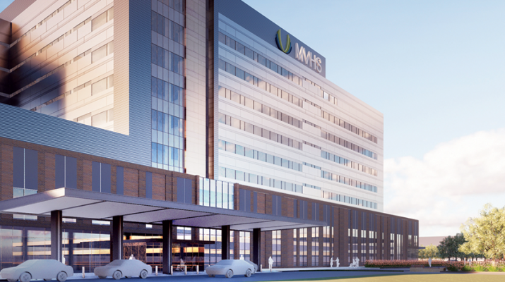 Above is a digital rendering of the new Mohawk Valley Health System medical center in downtown Utica.