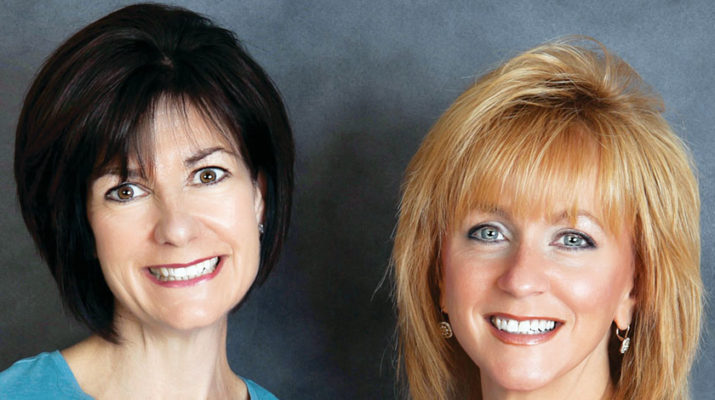 Kathleen Rutishauser, left, Denise Flihan are co-owners of Daughter for Hire LLC in Clinton.