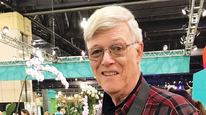 Dennis Osborne of Floyd, an Oneida County Master Gardener Program volunteer, attends the 2020 Philadelphia Flower Show in March before the COVID-19 pandemic struck.