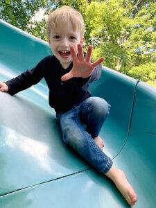 Beckett Nash, 3, was born with Tetralogy of Fallot with pulmonary atresia.
