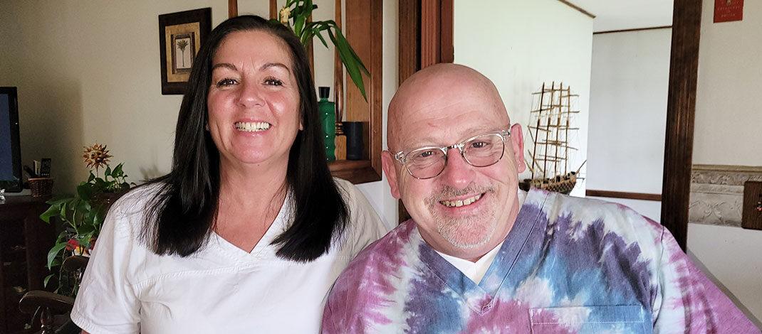 Both Ann Flood and her husband James Flood work as psychiatric nurses.