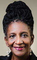 """Dietra Harvey works at United Way of the Mohawk Valley, where she serves as the Utica administrator for the Empire State Poverty Reduction Initiative: """"To mitigate stress in my life is my top priority,"""" she says."""
